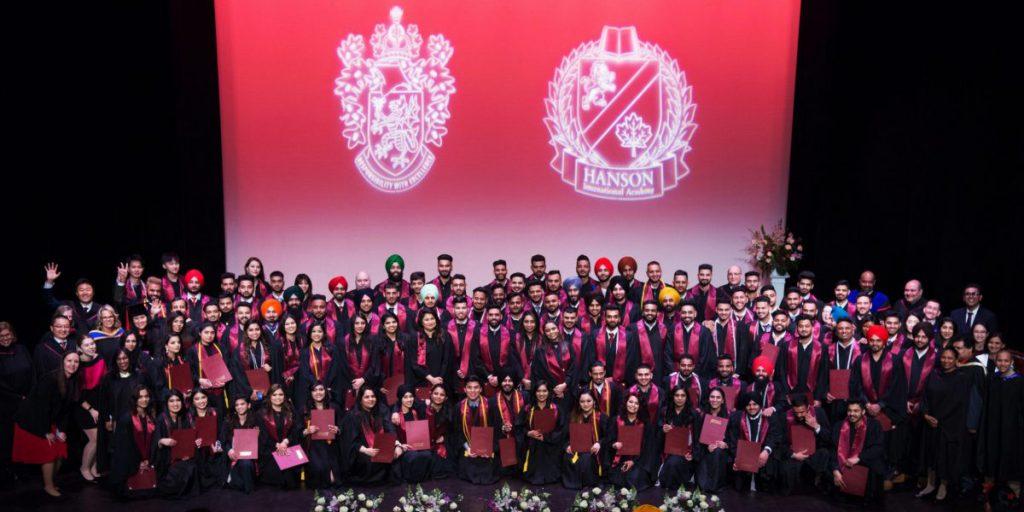 Hanson College B.C. 2019 Graduating Class