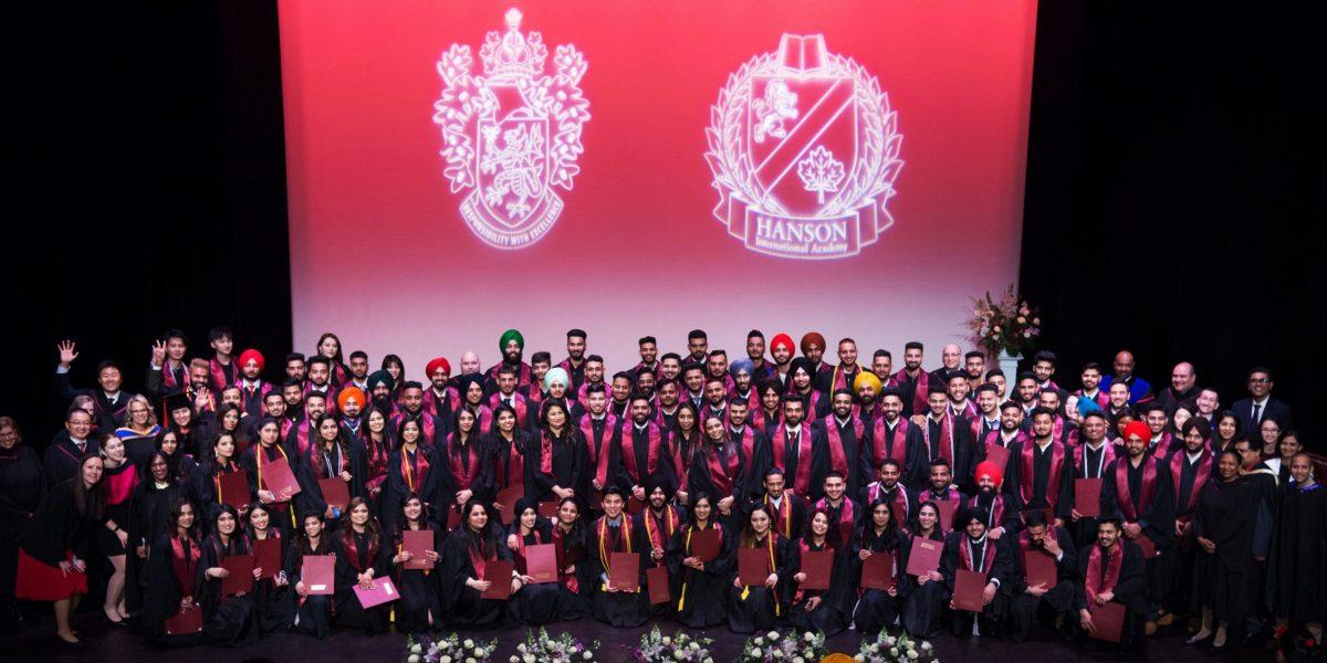 Hanson College BC 2019 graduation class